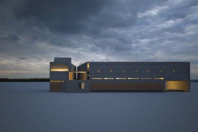 biblioteca arquitectura 3d