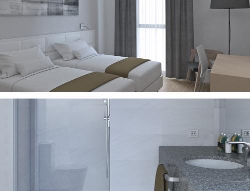 Arquitectura 3D para el diseño hoteles y restaurantes